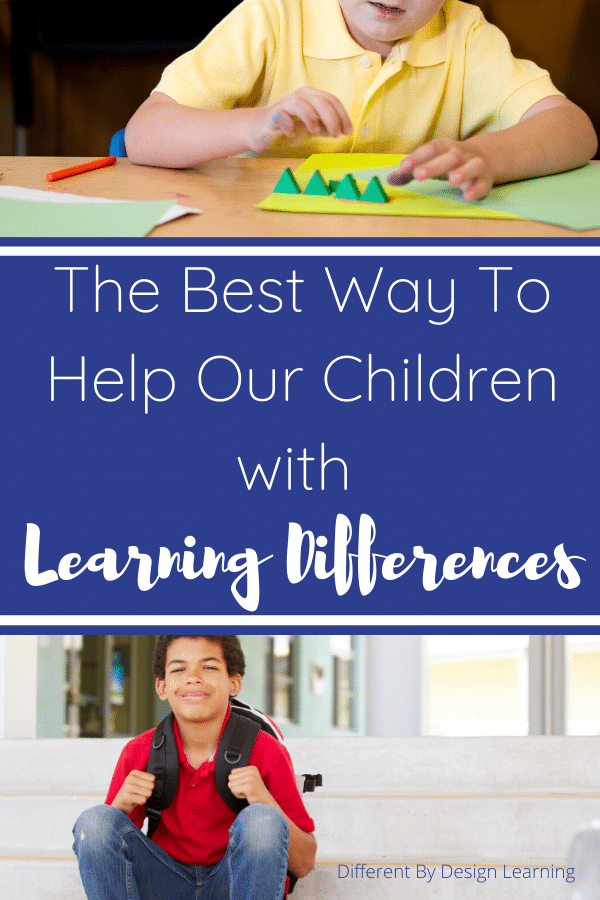 help children with learning differences