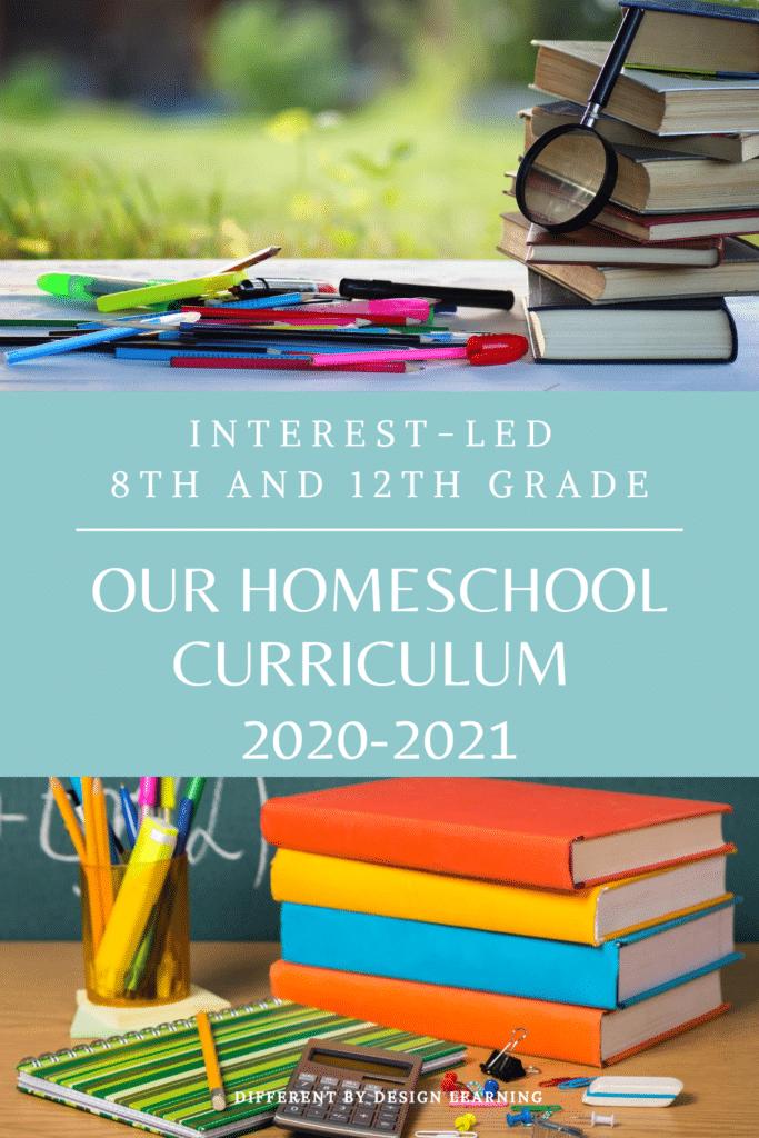 interest-led homeschool curriculum choices