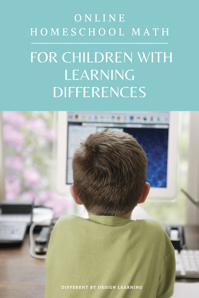 Online Homeschool Math For Children With Learning Differences