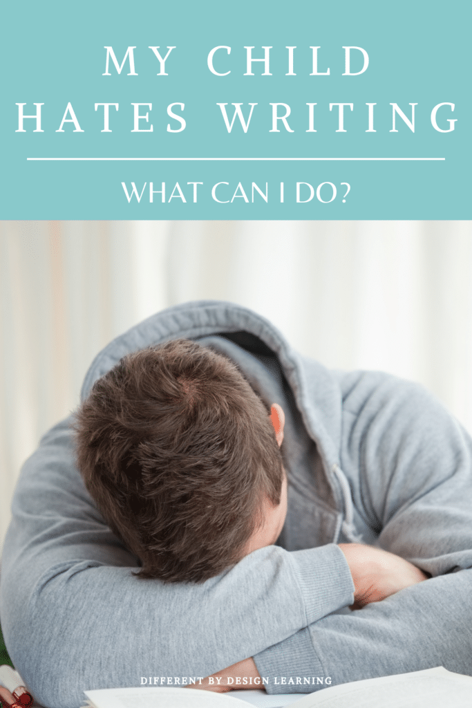 Why Is Writing So Hard For My Child?