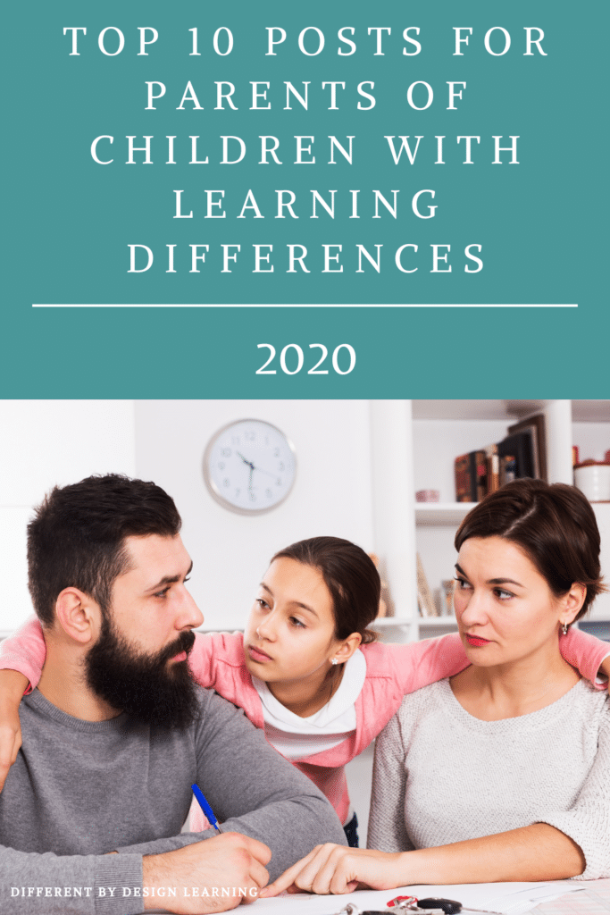 Posts For Parents Of Children With Learning Differences (2020)