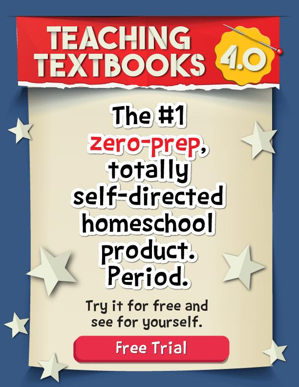 teaching textbooks 4.0