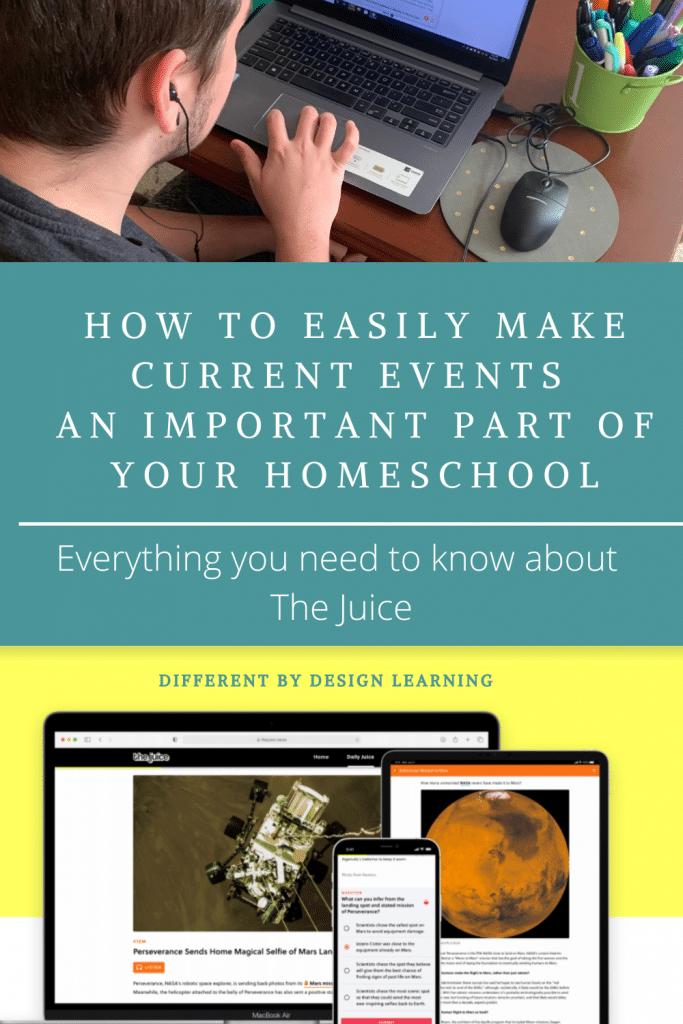 make current events part of your homeschool